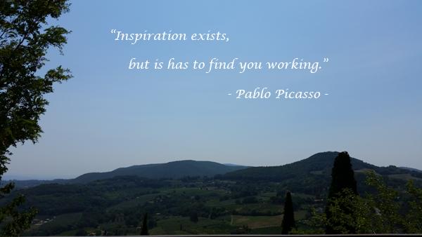 Is inspiratie af te dwingen?